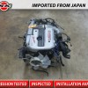 JDM 98-02 NISSAN SKYLINE GTR RB25DET NEO AWD 4WD S2 2.5L TURBO ENGINE ITEM#245