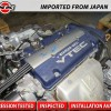 JDM 98 02 HONDA ACCORD 97 01 PRELUDE H23A DOHC 2.3L VTEC BLUETOP SiR ENGINE ONLY