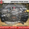 JDM 04 05 06 Subaru Legacy GT Turbo Engine EJ20X Replacement EJ25 Motor DUAL AVCS